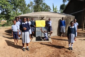The Water Project: St. Martin's Primary School -  Students Say Thank You