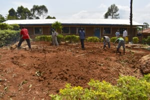 The Water Project: Jimarani Primary School -  Excavation Process