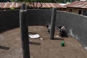 The Water Project: Jimarani Primary School -  Setting The Floor