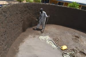 The Water Project: Jimarani Primary School -  Plastering The Inside Walls