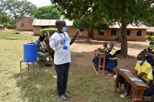 The Water Project: Jimarani Primary School -  Dental Hygiene Session