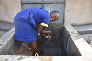 The Water Project: Jimarani Primary School -  Enjoying Water
