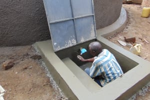 The Water Project: Kitambazi Primary School -  Constructing The Drawing Point