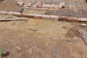 The Water Project: Kitambazi Primary School -  Latrine Foundation