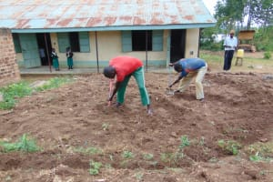 The Water Project: Kitambazi Primary School -  Excavation Work