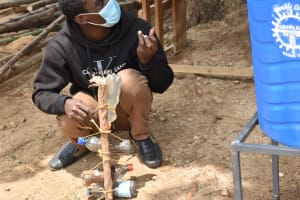 The Water Project: Kitambazi Primary School -  Making A Simple Kitchen Garden Using Drip Irrigation
