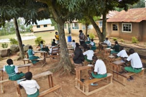 The Water Project: Kitambazi Primary School -  Training In Session
