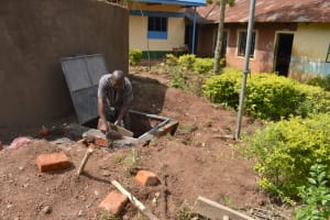 The Water Project: Friends Musiri Primary School -  Drawing Point Construction