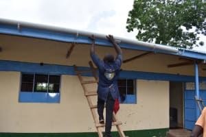 The Water Project: Friends Musiri Primary School -  Guttering Works