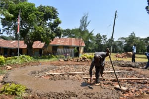 The Water Project: Friends Musiri Primary School -  Concrete Placement