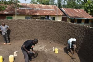 The Water Project: Friends Musiri Primary School -  Inside Plastering