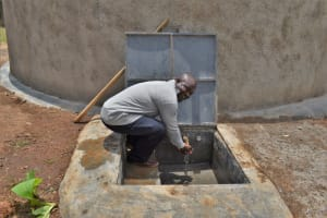 The Water Project: Friends Musiri Primary School -  Mr Duncan Enjoying The Water