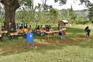 The Water Project: Friends Musiri Primary School -  Building A Simple Kitchen Garden
