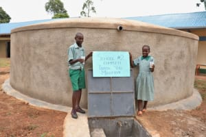 The Water Project: Friends Musiri Primary School -  Cheers To Clean Water At School