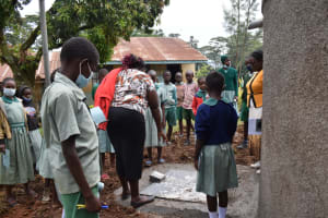 The Water Project: Friends Musiri Primary School -  Learning About The Rain Tank