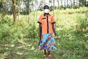 The Water Project: Emutetemo Community, Lubale Spring -  Zaituni Nechesa Okanga