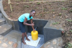 The Water Project: Emutetemo Community, Lubale Spring -  Happy Day At The Spring