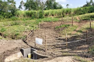The Water Project: Mabanga Community, Ashuma Spring -  A Good View Of Ashuma Spring
