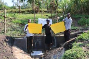 The Water Project: Mabanga Community, Ashuma Spring -  Everything Is Glorious