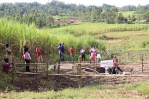 The Water Project: Mabanga Community, Ashuma Spring -  Site Management