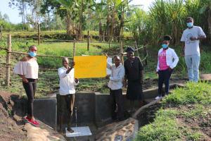 The Water Project: Mabanga Community, Ashuma Spring -  Thank You