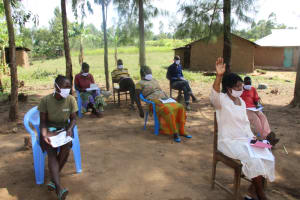 The Water Project: Mabanga Community, Ashuma Spring -  The Session Was Full Of Life