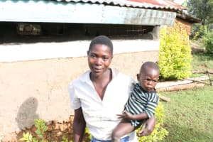 The Water Project: Khunyiri Community, Edward Spring -  Alice Shikhule With Her Baby
