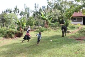 The Water Project: Khunyiri Community, Edward Spring -  Children Playing