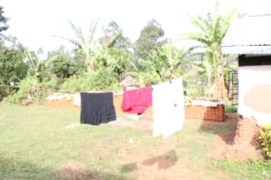 The Water Project: Khunyiri Community, Edward Spring -  Clothesline