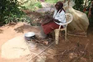 The Water Project: Khunyiri Community, Edward Spring -  Community Member Cooking