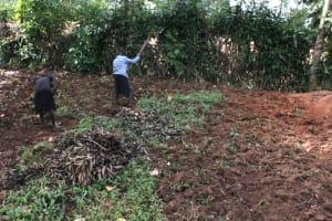 The Water Project: Khunyiri Community, Edward Spring -  Community Members Farming