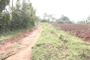 The Water Project: Khunyiri Community, Edward Spring -  Landscape
