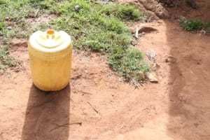 The Water Project: Khunyiri Community, Edward Spring -  Water Storage Container