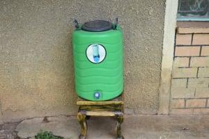 The Water Project: Emuyere Community, Kaikai Spring -  Handwashing Station