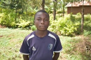 The Water Project: Emuyere Community, Kaikai Spring -  Joseph