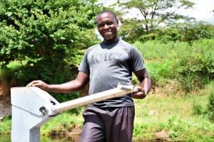 The Water Project: Mathanguni Community A -  Benson Matata