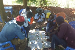 The Water Project: Mathanguni Community A -  Community Members At The Training