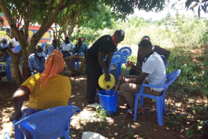The Water Project: Mathanguni Community A -  Soap Making