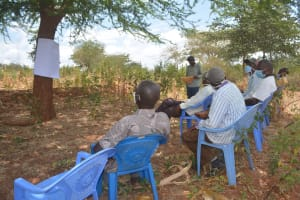 The Water Project: Thona Community A -  Training