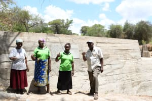 The Water Project: Thona Community -  Celebrating The Dam