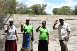 The Water Project: Thona Community -  Community Members At Their Dam