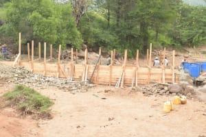 The Water Project: Thona Community -  Dam Progress