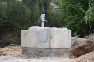 The Water Project: Thona Community A -  New Well