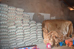 The Water Project: Kalatine Primary School -  Cement Bags