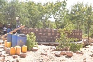 The Water Project: Kalatine Primary School -  Tank Wall Progress