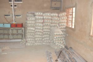 The Water Project: Mang'uu Primary School -  Cement Bags