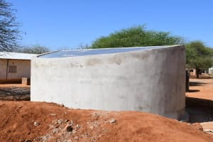 The Water Project: Mang'uu Primary School -  Complete Tank
