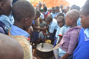 The Water Project: Mang'uu Primary School -  Making Soap