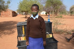 The Water Project: Mang'uu Primary School -  Mercy M