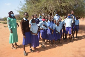 The Water Project: Mang'uu Primary School -  Student Health Club Members